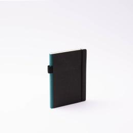 Kalender CONTEMPORARY grünblau | 12 x 16,5 cm,  1 Woche/Doppelseite