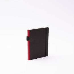 Kalender CONTEMPORARY dunkelrot | 12 x 16,5 cm,  1 Woche/Doppelseite