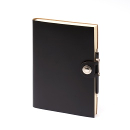 Kalender LEFA schwarz | 17 x 24 cm,  1 Woche/Doppelseite