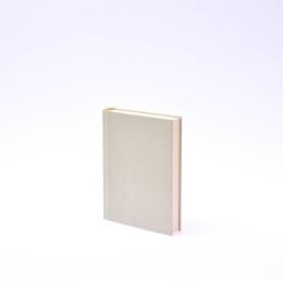 Kalender LEINEN blassgrün | 12 x 16,5 cm,  1 Tag/Seite