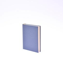 Kalender LEINEN nachtblau | 12 x 16,5 cm,  1 Tag/Seite