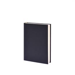 Kalender LEINEN schwarz | DIN A 5,  1 Tag/Seite