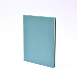 Kalender LEINEN jade | 17 x 24 cm,  1 Woche/Doppelseite