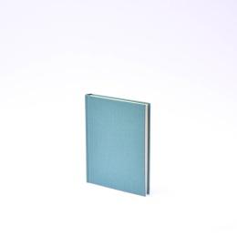 Kalender LEINEN jade | 12 x 16,5 cm,  1 Woche/Doppelseite