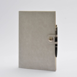 Kalender NOX grau | 17 x 24 cm,  1 Woche/Doppelseite