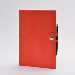 Kalender NOX rot | 17 x 24 cm,  1 Woche/Doppelseite