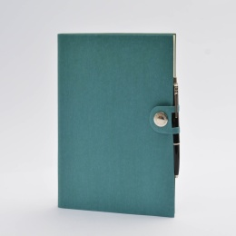 Kalender NOX türkis | 17 x 24 cm,  1 Woche/Doppelseite