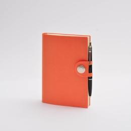 Kalender 2021 NOX orange | 12 x 16,5 cm,  1 Woche/Doppelseite