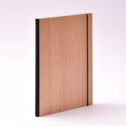 Kalender PURIST WOOD Kirsche | 17 x 24 cm,  1 Woche/Doppelseite