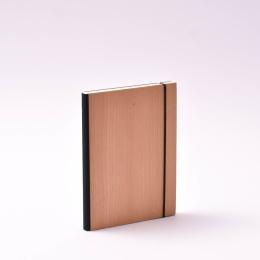 Kalender PURIST WOOD Kirsche   12 x 16,5 cm,  1 Woche/Doppelseite