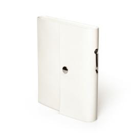 Kalender SCRIVO hellgrau | 8 x 12,5 cm,  1 Woche/Doppelseite