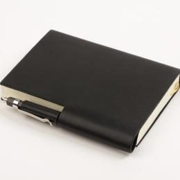 Kalender STILUS schwarz | 8 x 12,5 cm,  1 Woche/Doppelseite