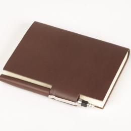Kalender STILUS dunkelbraun | 9 x 13 cm,  1 Tag/Seite