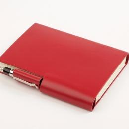 Kalender STILUS rot | 9 x 13 cm,  1 Tag/Seite