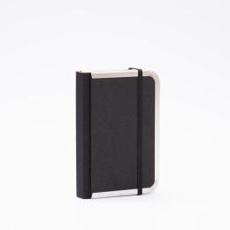 Tageskalender BASIC schwarz | 9 x 13 cm,  1 Tag/Seite