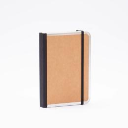 Tageskalender BASIC natur-braun | 12 x 16,5 cm,  1 Tag/Seite