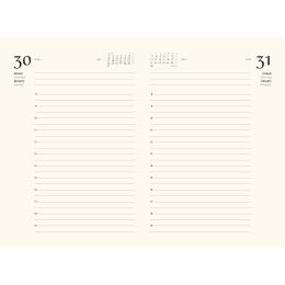 Tageskalender MARLIES Malmö | 12 x 16,5 cm,  1 Tag/Seite