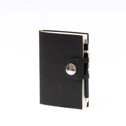 Tageskalender NOX schwarz | 9 x 13 cm,  1 Tag/Seite