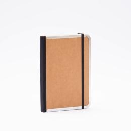 Wochenplaner BASIC natur-braun   12 x 16,5 cm,  1 Woche/Doppelseite