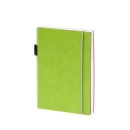 Wochenplaner NEW GENERATION grün | 12 x 16,5 cm,  1 Woche/Doppelseite