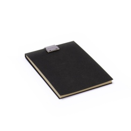 Note Pad CLIPPER black | A6, 50 sheet blank