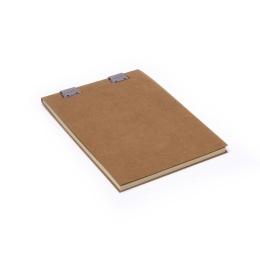 Notizblock CLIPPER natur-braun | DIN A5, 50 Blatt blanko, 90 g