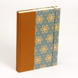 Notizbuch ALMA Avon Blue | 12 x 16,5 cm, 144 Blatt liniert