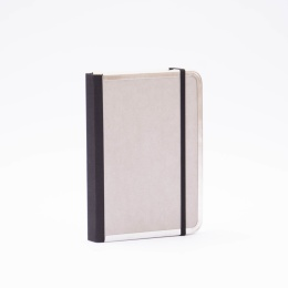 Notebook BASIC light grey | 12 x 16,5 cm, 144 sheet blank