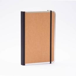 Notizbuch BASIC natur-braun | DIN A 5, 144 Blatt blanko