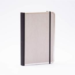 Notizbuch BASIC hellgrau | DIN A 5, 144 Blatt blanko