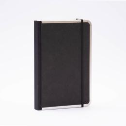 Notizbuch BASIC schwarz | DIN A 5, 144 Blatt liniert