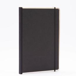 Notizbuch BASIC schwarz | DIN A 4, 96 Blatt blanko