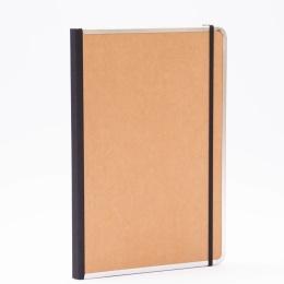 Notizbuch BASIC natur-braun | DIN A 4, 96 Blatt blanko