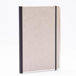 Notizbuch BASIC hellgrau | DIN A 4, 96 Blatt liniert
