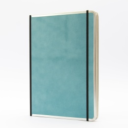 Notizbuch BASIC COLOUR türkis | DIN A 4, 96 Blatt Punktraster