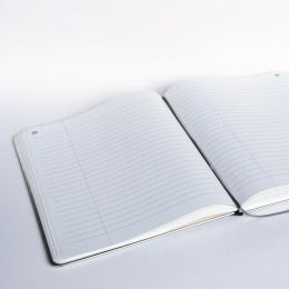 Notizbuch BASIC KONTOR 24 x 28 cm, 96 Blatt liniert