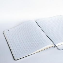 Notizbuch BASIC KONTOR 24 x 28 cm, 96 Blatt kariert