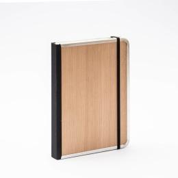 Notizbuch BASIC WOOD Kirsche | DIN A5, 144 Blatt blanko