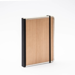 Notebook BASIC WOOD Cherry | A5, 144 sheet dotted