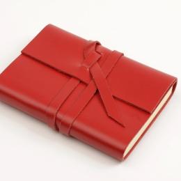 Notizbuch CIRCUM rot | DIN A 5, 144 Blatt liniert