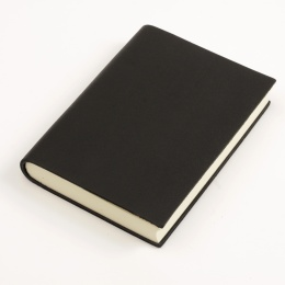 Notizbuch CLASSIC schwarz | 9 x 13 cm, 120 Blatt blanko