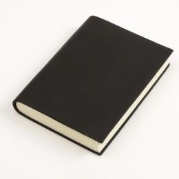 Notizbuch CLASSIC schwarz | 12 x 16,5 cm, 144 Blatt Punktraster
