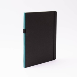 Notebook CONTEMPORARY greenish blue | A 4, 96 sheet blank