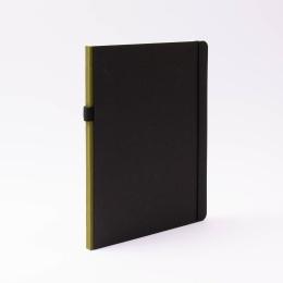 Notizbuch CONTEMPORARY khaki | DIN A 4, 96 Blatt liniert