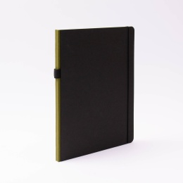Notizbuch CONTEMPORARY khaki | DIN A 4, 96 Blatt Punktraster