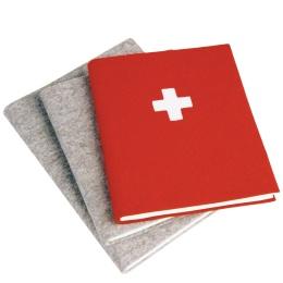 Notizbuch FILZBUCH natur | DIN A 5, 144 Blatt liniert