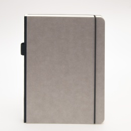 Notizbuch ILLUSTRATOR hellgrau | DIN A 4, 96 Blatt blanko
