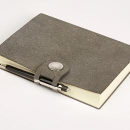 Notebook LEFA grey | DIN A4, 96 sheet blank