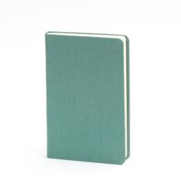 Notizbuch LEINEN jade   9 x 14 cm, 96 Blatt liniert