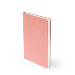 Notizbuch LEINEN altrosa | DIN A 5, 96 Blatt liniert